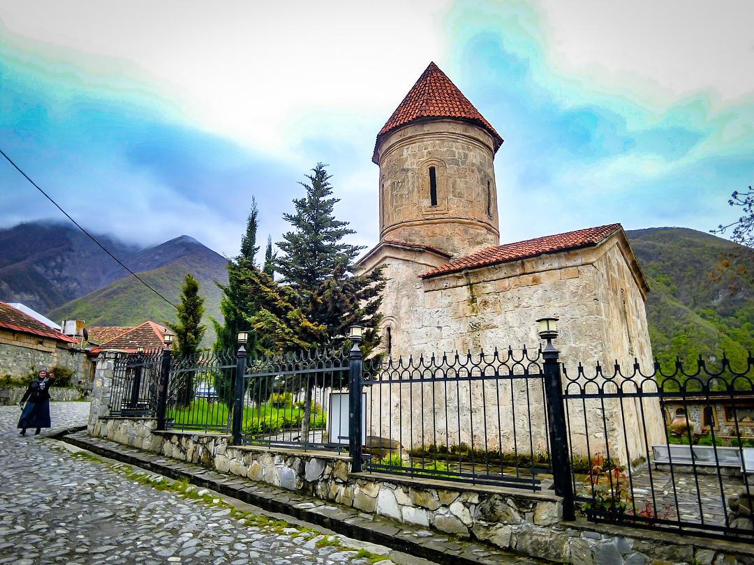 albanian-church-Sheki