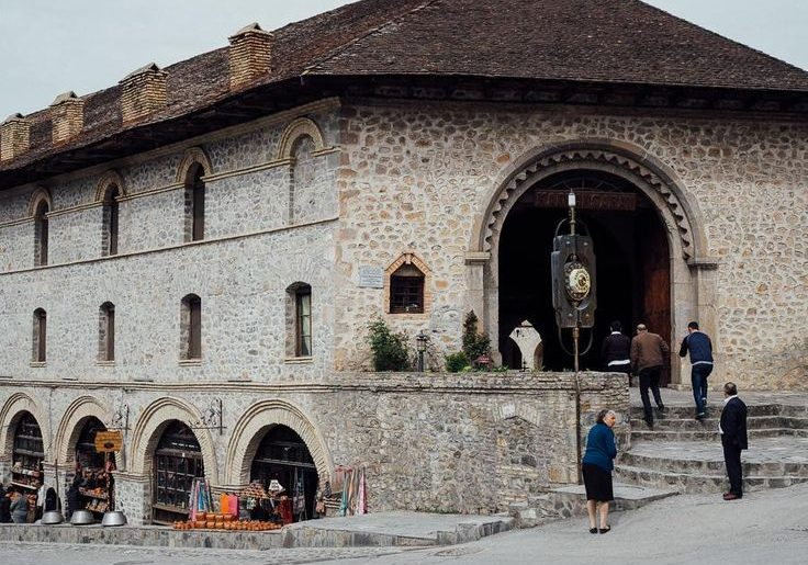Sheki karvansaray historical
